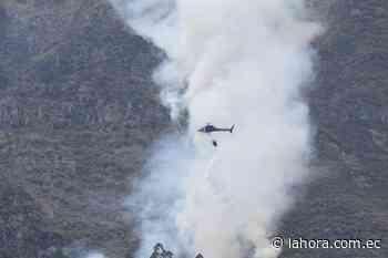 Totoras rechaza hipótesis sobre el origen de los incendios forestales en Ambato - La Hora (Ecuador)