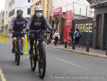Plan piloto de ciclovía se implementa en Ambato - Diario Los Andes