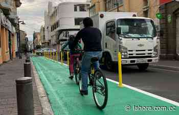 En Ambato listo plan piloto de movilidad - La Hora (Ecuador)