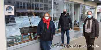 Schleiden: Galeristin in Stadt nutzen Schaufenster für Kunst - Kölnische Rundschau