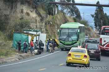 Usuarios se quejan por inseguridad vial al sur de Ambato - La Hora (Ecuador)
