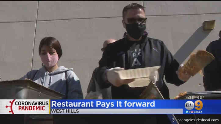 Los Toros Mexican Restaurant Pays It Forward, Uses Loan To Feed Health Care Workers At West Hills Hospital