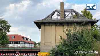 Bahn reißt altes Stellwerkshaus in Waltershausen nicht ab - Thüringische Landeszeitung