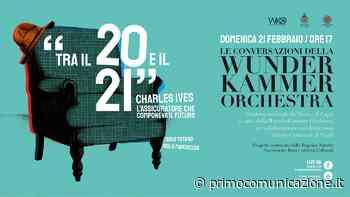 """Domenica """"Charles Ives, l'assicuratore che componeva il futuro"""" con la WunderKammer Orchestra - Primo Comunicazione"""
