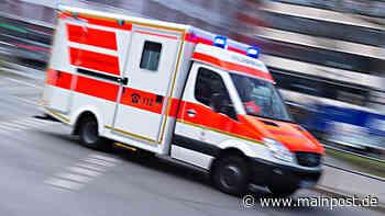 Heustreu: Zwei Jugendliche bei Unfall schwer verletzt Foto: Nicolas Armer - Main-Post