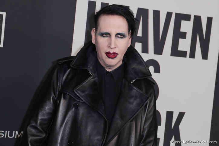 LASD Investigating Domestic Violence Allegations Against Marilyn Manson