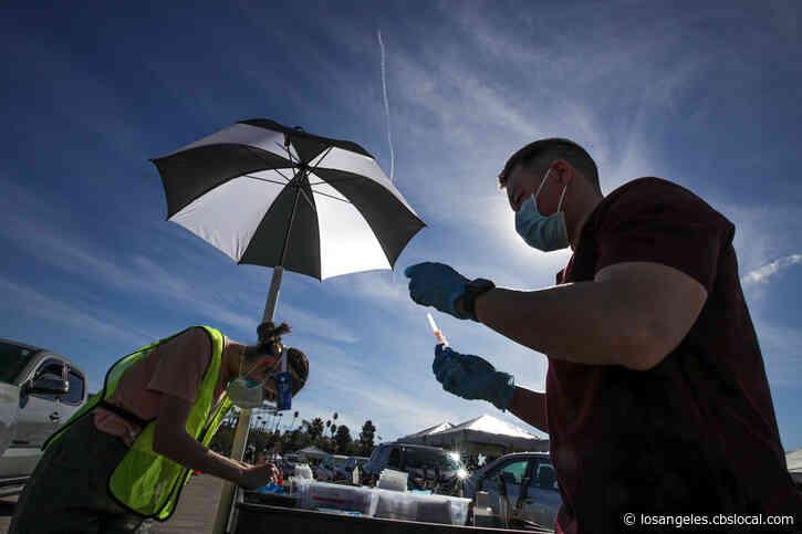 LA Postpones COVID Vaccinations At City Sites Due To Winter Storms