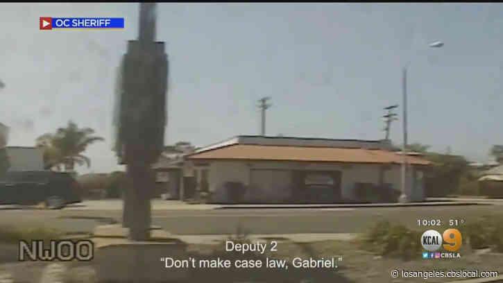 OC Sheriff's Department Releases Video Of Fatal Deputy Shooting of Kurt Reinhold