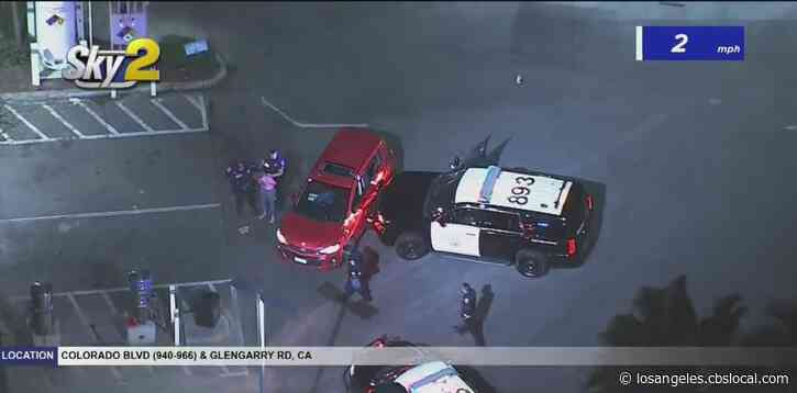 Pursuit Of Reckless Driving Suspect Ends With Driver In Custody