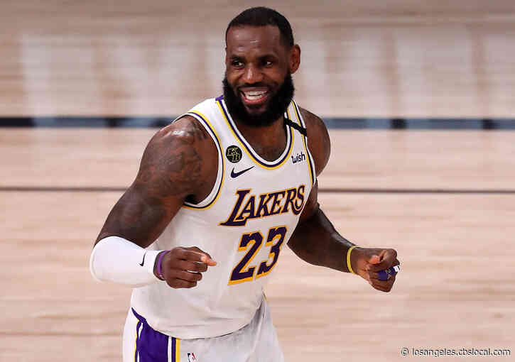 LeBron James Scores 35,000th Career Point