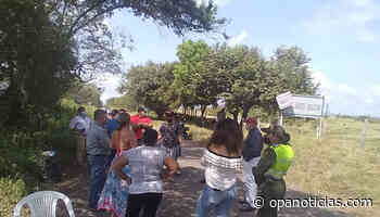 Bloqueo a campo Balcón en Aipe completan nueve días - Opanoticias