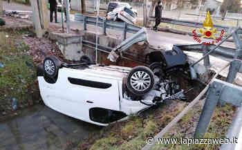 Santa Maria di Sala: scontro tra due auto, due feriti - La PiazzaWeb - La Piazza