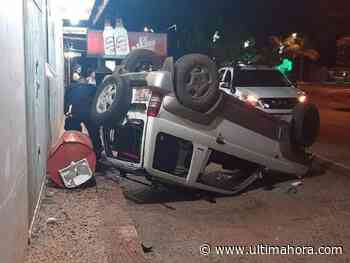 Conductor alcoholizado protagoniza grave accidente de tránsito en Mbocayaty - ÚltimaHora.com