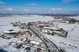 Nieuwsfoto's: Sneeuwpret en -leed op de boerderij - Boerderij