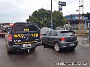 Após perseguição, PRF recupera em Muriaé, carro furtado em Espera Feliz - Rádio Muriaé