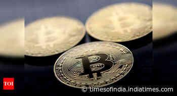 Bitcoin steams to new record, nears $1tn market cap