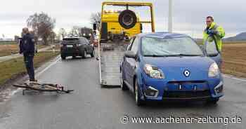 L164 bei Geilenkirchen: Zeuge für Unfall mit jungem Radfahrer gesucht - Aachener Zeitung