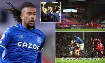 Everton's Alex Iwobi claims no fans at Merseyside derby could be an 'advantage' over Liverpool