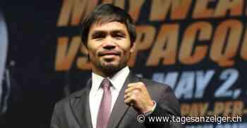 «Manny» Pacquiao im Porträt - Ex-Boxweltmeister macht steile politische Karriere - Tages-Anzeiger