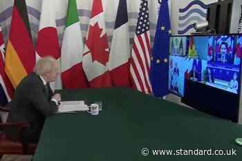 'Can you hear us Angela?' Boris Johnson asks German Chancellor Angela Merkel to mute on G7 Zoom call