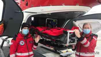 DRF Luftrettung: Am Klinikum in Bad Saarow fliegt ein neuer Hubschrauber - moz.de