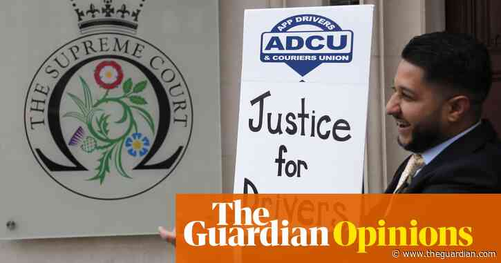 The Guardian view on the Uber drivers ruling: a challenge to government | Editorial