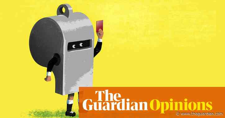 Who's the angry bloke in the black? It was sadly inevitable a referee would crack | Max Rushden