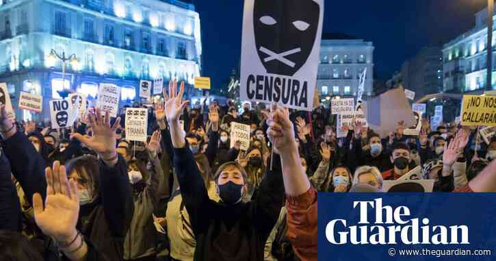 Angry words: rapper's jailing exposes Spain's free speech faultlines