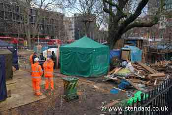 HS2 wins legal ruling to force protesters out of Euston Square Gardens