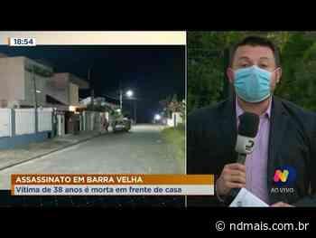 Homem é morto a tiros em frente de casa em Barra Velha - ND Mais