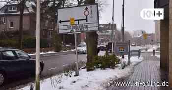 Kronshagen: Claus-Sinjen-Straße ab Montag für Autofahrer voll gesperrt - Kieler Nachrichten