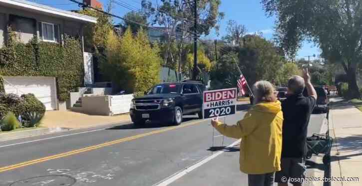 Vice President Kamala Harris Arrives For Weekend In Los Angeles