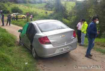 Hallaron carro en Píllaro, su conductor no asoma - Portal Extra