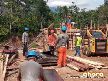 Avanza construcción de carretera Chazuta-Curiyacu - DIARIO AHORA