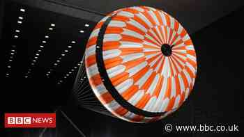 Mars landing: Devon textiles firm created parachute fabric