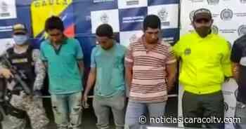 Cayeron los presuntos asesinos de dos policías en Sucre - Noticias Caracol