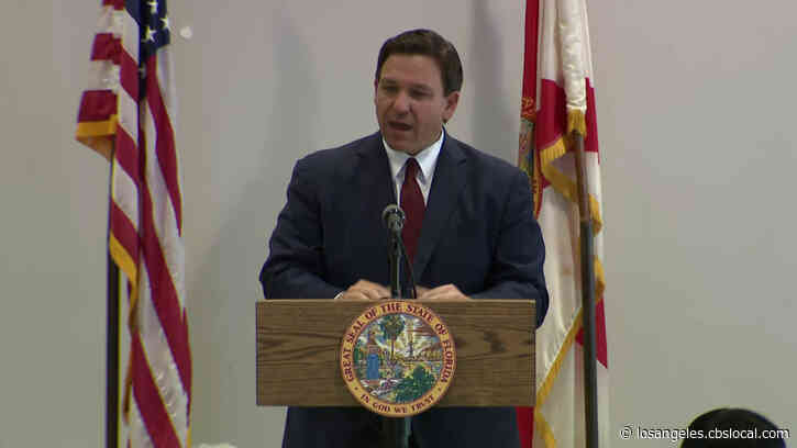 Florida Governor Ron DeSantis Announces Flags To Fly At Half Staff For Rush Limbaugh