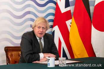 Boris Johnson tells G7 summit 'whole world' must be vaccinated