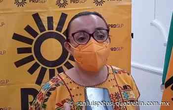 Guadalupe Almaguer seguirá fortaleciendo trabajo en PRD - Noticias de San Luis Potosí - Quadratín San Luis