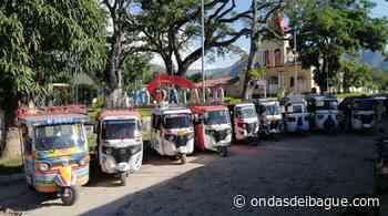 Mototaxistas de Ataco preocupados por intempestiva citación a reunión citada por la inspección de policía - Emisora Ondas de Ibagué, 1470 AM