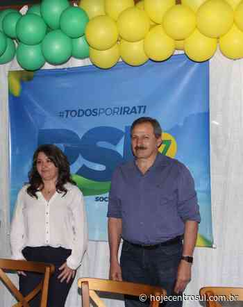 Com chapa pura, PSL tem Ico Ruva como candidato a prefeito e Margareth como vice | Hoje Centro Sul - Hoje Centro Sul