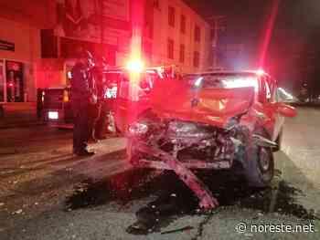 Aparatoso accidente en el bulevar Adolfo Ruiz Cortines de Poza Rica - NORESTE