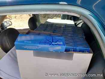 Incautan más de 30 mil cigarros ilegales en Parras de la Fuente - El Siglo de Torreón