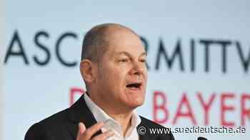 Scholz trägt bei Videokonferenz auch mal Sportkleidung - Süddeutsche Zeitung