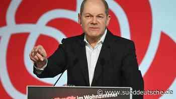 Scholz verspricht zupackende Politik: Will Kanzler werden - Süddeutsche Zeitung