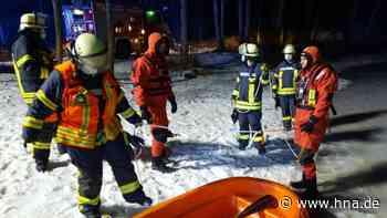50 Rettungskräfte suchten angeblich Eingebrochene - HNA.de