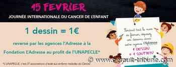 MEZE - En février, 1 dessin=1 don pour les associations de familles d'enfants atteints du cancer - Hérault-Tribune