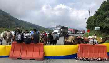 Habilitan vía Medellín-Santa Fe de Antioquia - Caracol Radio