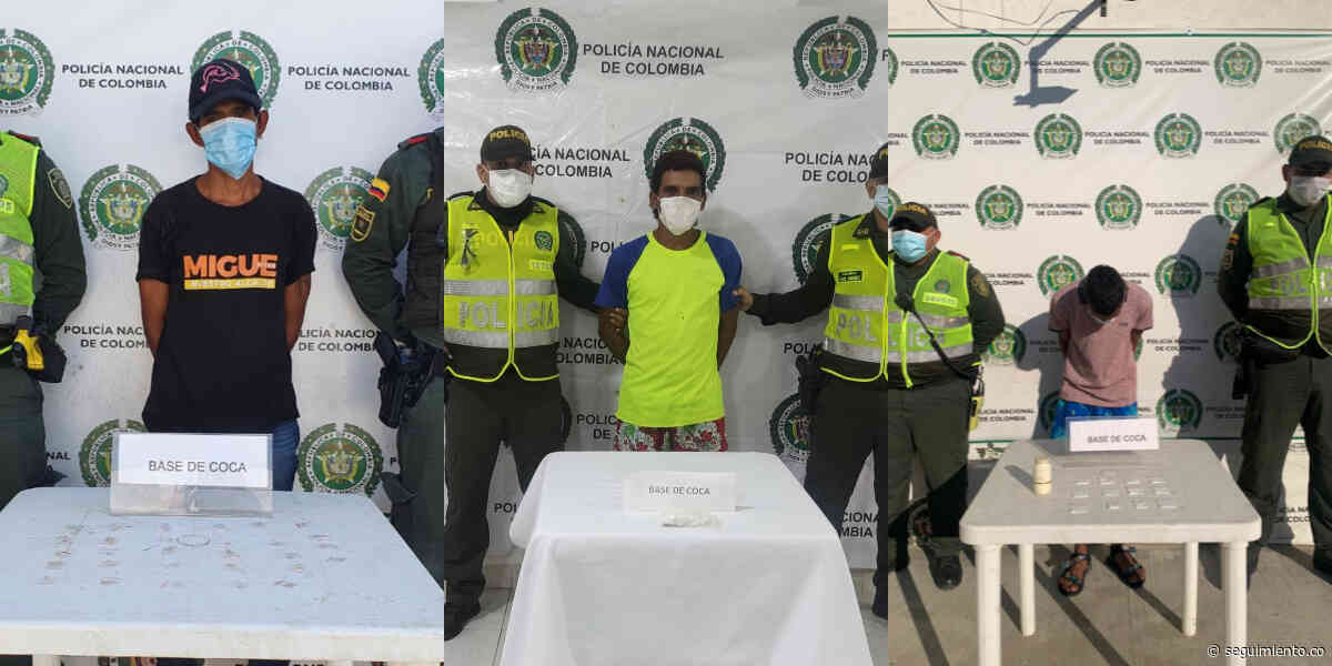 Capturan a dos hombres en Santa Marta y uno en Sitionuevo por microtráfico de drogas - Seguimiento.co