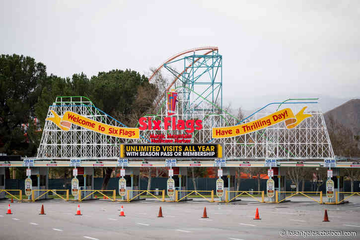 Six Flags Magic Mountain Announces Spring Reopening